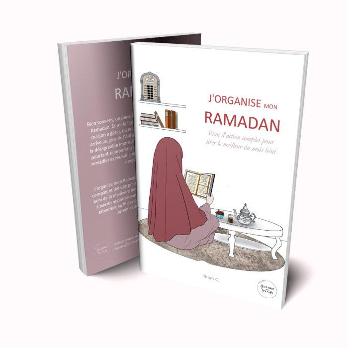 livre Ramadan j'organise mon Ramadan